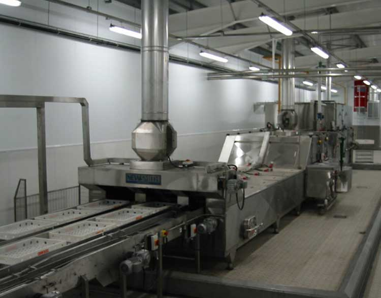 Confectionery Tray Washers